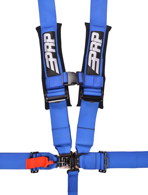 3 Inch 5 Point Harness Blue PRP Seats - SB5.3B
