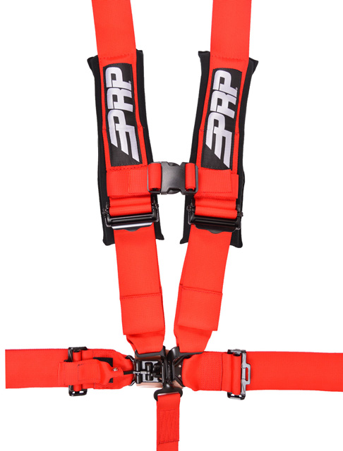 3 Inch 5 Point Harness Red PRP Seats - SB5.3R