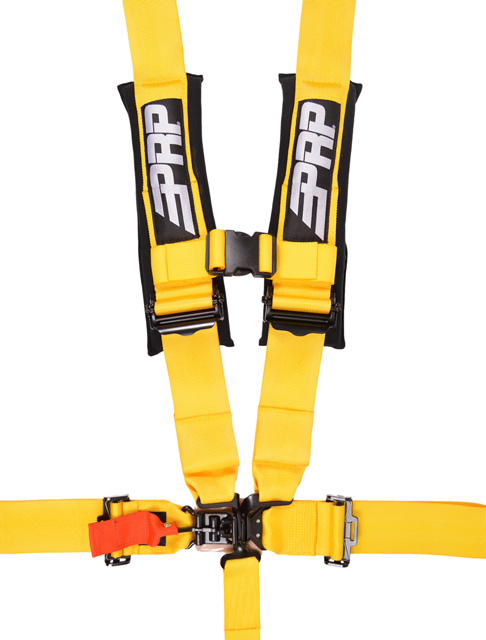 3 Inch 5 Point Harness Yellow PRP Seats - SB5.3Y