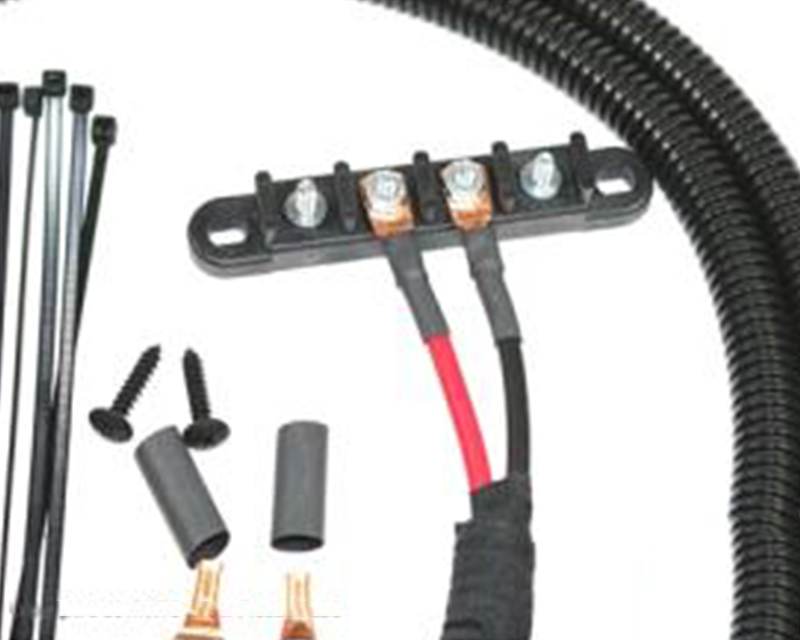 XTC Power Products Universal Plug & Play 8' Universal Power Cables To 4 Stud Busbar - UNI-PWR-UP