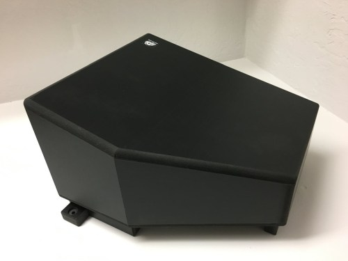UTV Sterero Under Seat Driver 10inch Sub Enclosure Can-Am X3 - UTV-X3SUB-ENCDRI