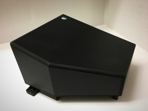UTV Sterero Under Seat Passenger 10inch Sub Enclosure Can-Am X3 - UTV-X3SUB-ENCPASS