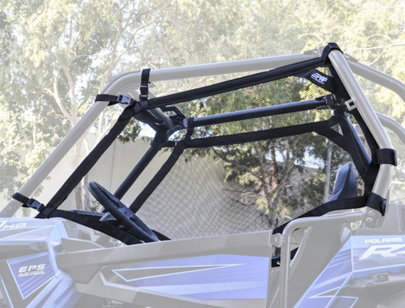 Mesh Window Nets for Polaris RZR 1000 with Stock Cage and Stock Doors PRP Seats - W18