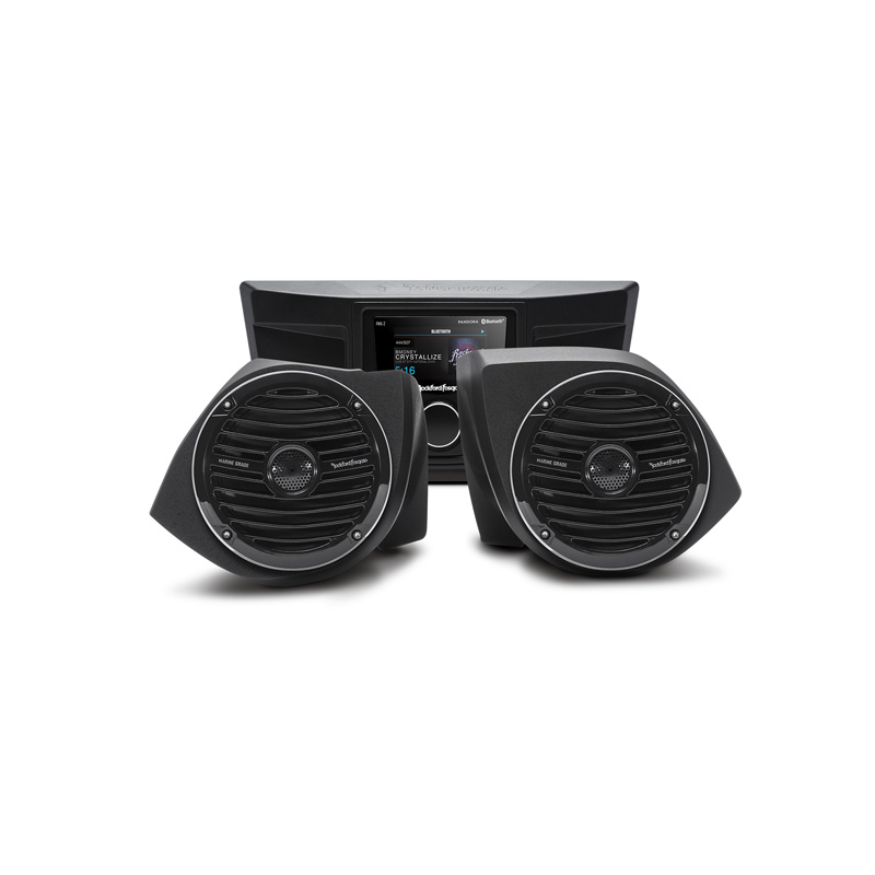 Rockford Fosgate Stage 2 Stereo | Front Speaker Kit Yamaha YXZ Models - YXZ-STAGE2