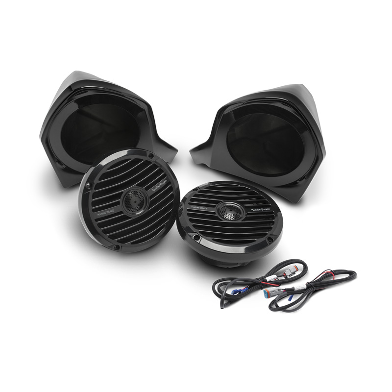 Rockford Fosgate Add-On Front Upper Speaker Kit For Use w/YXZ-Stage2 | YXZ-Stage3 | YXZ-Stage4 Kits - YXZ-UPPER