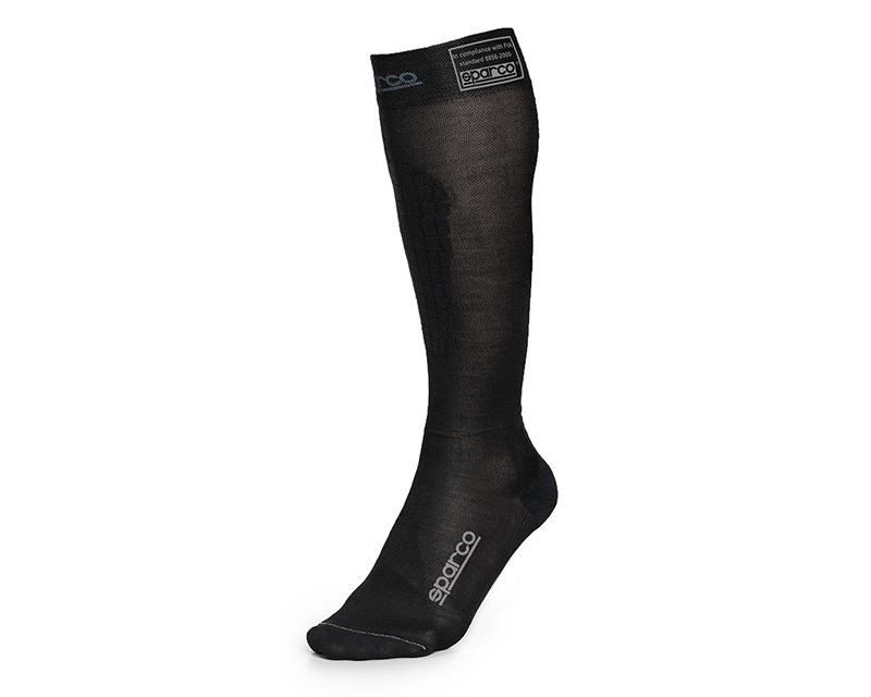 Sparco Black RW-9 Compression Racing Socks EU 38/39 | US 5/5.5 - 001512NR1012