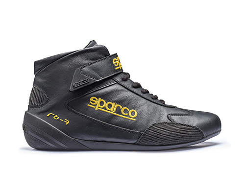 Sparco Black Cross RB-7 Driving Shoes EU 47 | US 13.5 - 00122447NR