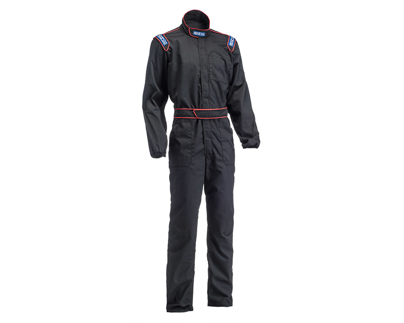 Sparco Black MX-3 Mechanic Suit | L - 002004NR3L