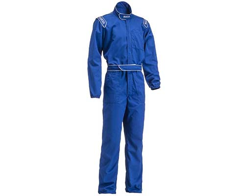 Sparco Blue MX-3 Mechanic Suit | L - 002004AZ3L