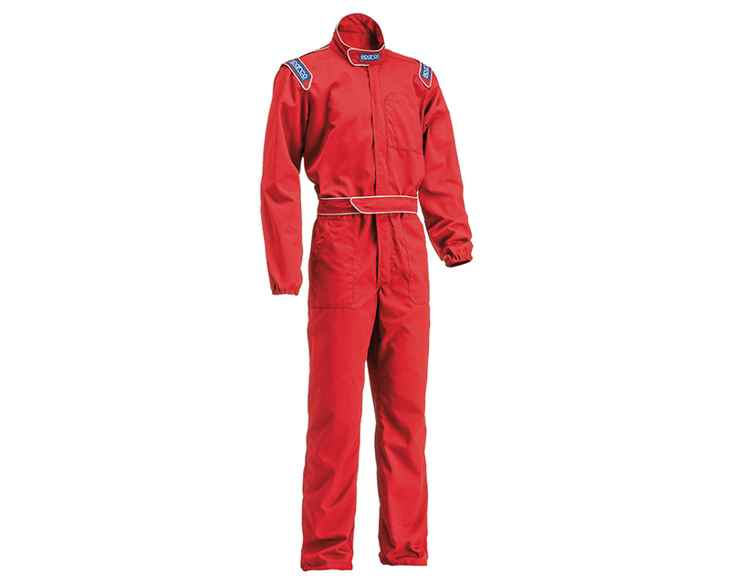 Sparco Red MX-3 Mechanic Suit | M - 002004RS2M