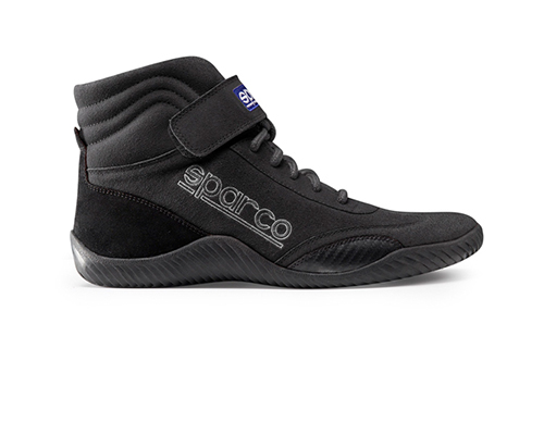 Sparco Black Race Driving Shoes EU 42 | US 8.5 - 00127085N