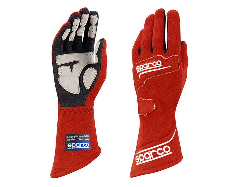 Sparco Rocket RG-4 Red Racing Gloves | XL - 00130712RS