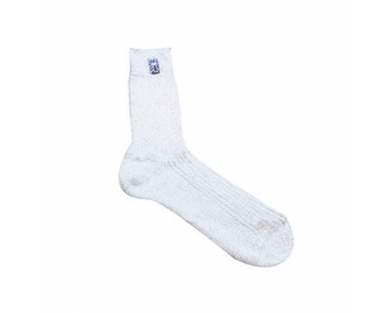 Sparco White Ice Nomex Racing Crew Socks EU 42/43 | US 8/9.5 - 001510ICE1112