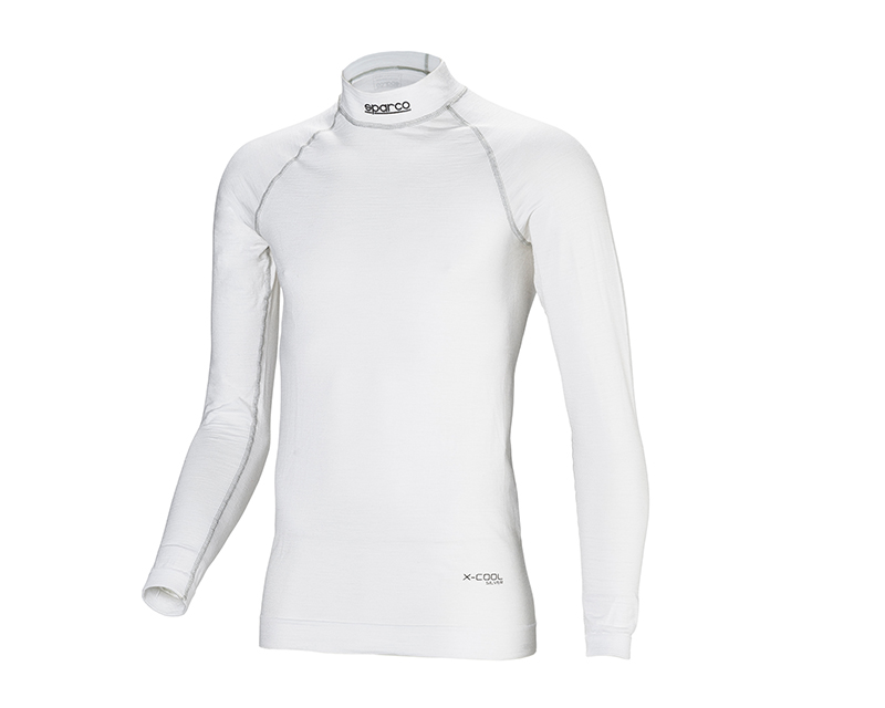 Sparco White Shield RW-9 Racing Undershirt | XL | XXL - 001764MBOXLXXL
