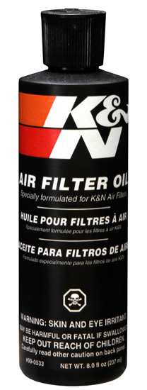 K&N Air Filter Oil - 8oz Squeeze - 99-0533