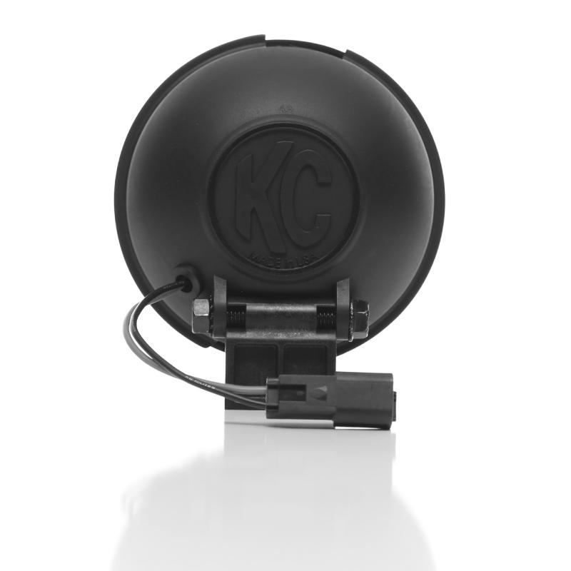 "KC HiLiTES 5"" Apollo Pro Halogen - Black - KC #1451 (Spread Beam) - 1451"