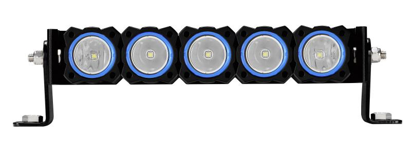 KC HiLiTES KC FLEX Bezels - Blue ED Coated (5 pack) - 30563