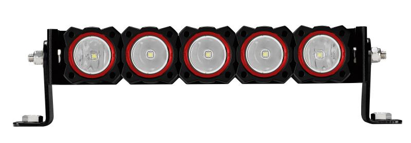 KC HiLiTES KC FLEX Bezels -  Red ED Coated (5 pack) - 30564