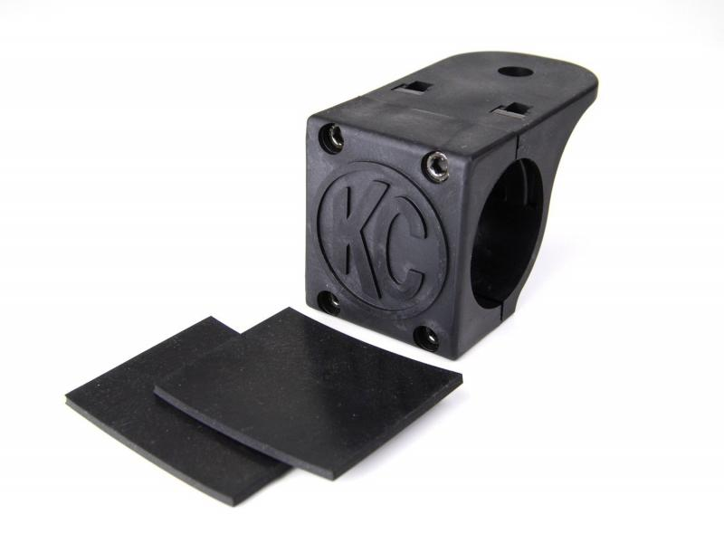 """KC HiLiTES Tube Clamp Mount Bracket for 1.75"""" to 2"""" Round Light Bars and Roof Racks - 7307"""