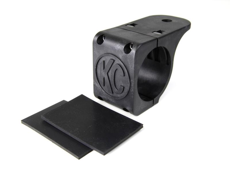 "KC HiLiTES Tube Clamp Mount Bracket for 2.75"" to 3.0"" Round Light Bars and Roof Racks - 7309"