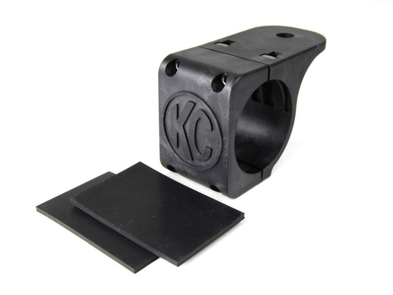 "KC HiLiTES Tube Clamp Mount Bracket for 2.25"" to 2.5"" Round Light Bars and Roof Racks - 7308"