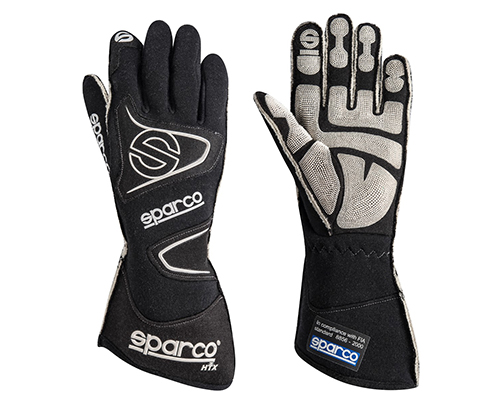 Sparco Tide RG-9 Black Racing Gloves | LG - 00135511NR