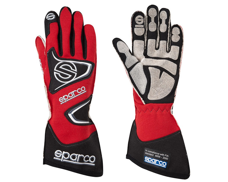 Sparco Tide RG-9 Red Racing Gloves | XL - 00135512RS