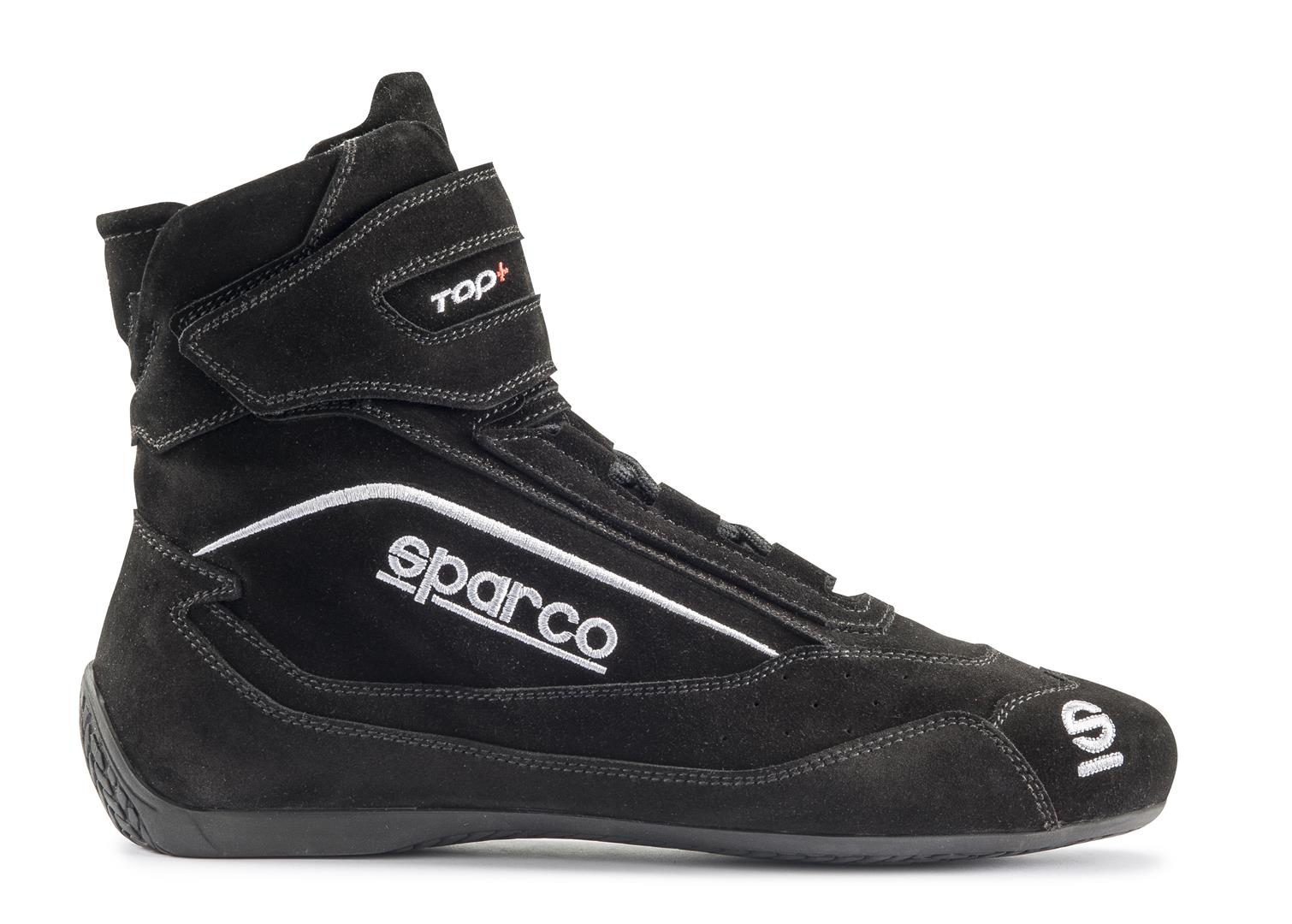 Sparco Black Top+ SH-5 Driving Shoes EU 44 | US 10 - 00121044NR