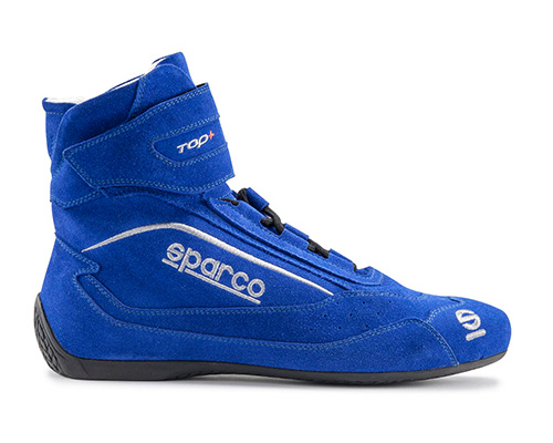 Sparco Blue Top+ SH-5 Driving Shoes EU 48 | US 14.5 - 00121048AZ
