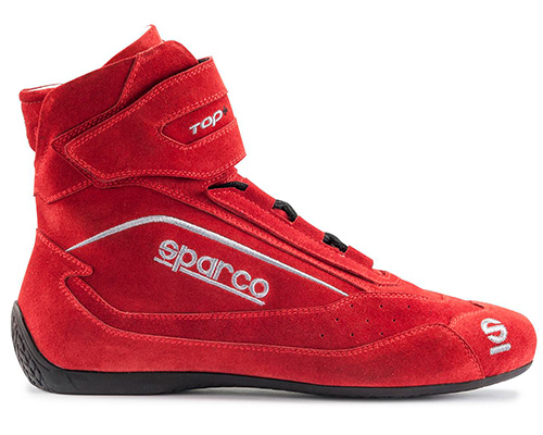 Sparco Red Top+ SH-5 Driving Shoes EU 45 | US 11.5 - 00121045RS